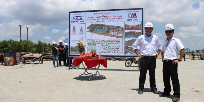 (Tiếng Việt) Lễ cúng khởi công dự án KDL Văn hóa tâm linh Bà Chúa Xứ – Cáp treo Núi Sam